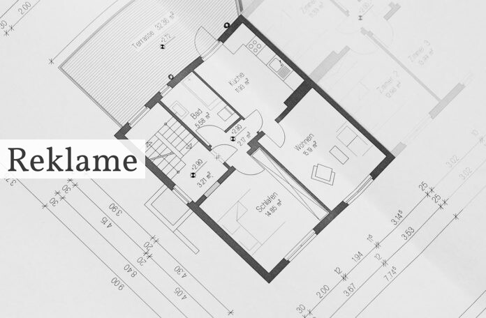 Arkitekt tegnet hus